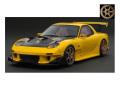 [予約]ignition model(イグニッションモデル) 1/18 マツダ RX-7 (FD3S) イエロー ★生産予定数:140pcs