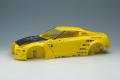 IDEA(イデア) 1/18 Rocket Bunny R35 GT‐R イエロー (カーボンフード) / HRE S101 20in. Wheel