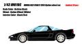 [予約]IDEA(イデア) 1/18 ホンダ NSX-R(NA1) 1994 オプションホイール ベルリナブラック  ※限定10台