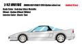 [予約]IDEA(イデア) 1/18 ホンダ NSX-R(NA1) 1994 オプションホイール セブリングシルバーメタリック  ※限定10台