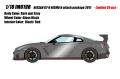[予約]IDEA(イデア) 1/18 日産 GT‐R NISMO Nアタックパッケージ 2017 ダークマットグレー(限定30台)