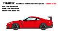 [予約]IDEA(イデア) 1/18 日産 GT‐R NISMO Nアタックパッケージ 2017 バイブラントレッド(限定30台)