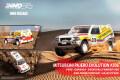 [予約]【お1人様5個まで】INNO Models(イノモデル) 1/64 三菱 パジェロ エボリューション #206 Paris - Dakar 1998 優勝車