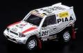 """【お1人様5個まで】INNO Models(イノモデル) 1/64 三菱 パジェロ エボリューション #205 """"PIAA"""" Paris - Dakar 1998"""