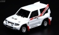 【お1人様5個まで】INNO Models(イノモデル) 1/64 三菱 パジェロ エボリューション ホワイト With Extra Wheels