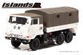 [予約]islands(アイランズ) 1/43 陸上自衛隊 3・1/2t トラック (73式大型トラックSKW477 国連平和維持活動仕様) *150pcs