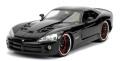 [予約]Jada Toys(ジャダトイズ) 1/24 F&F ダッジ バイパー SRT ブラック (レティ)