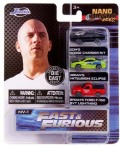 Jada Toys(ジャダトイズ) ノンスケール ワイルドスピード(Fast&Furious) 3台セット1