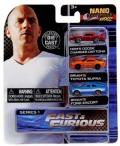 [予約]Jada Toys(ジャダトイズ) ノンスケール ワイルドスピード(Fast&Furious) 3台セット2