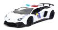 [予約]Jada Toys(ジャダトイズ) 1/24 2017 ランボルギーニ アヴェンタドール 州警察(ホワイト)