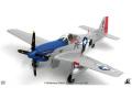 JCW 1/72 P-51D USAAF 328th FS, 352nd FG, 8th AF ジョージ・プレディ
