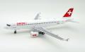 [予約]JFOX MODELS 1/200 A320-200 スイスインターナショナル航空 HB-IJS With Stand