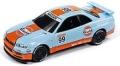 [予約]Johnny Lightning(ジョニーライトニング) 1/64 1999 日産 スカイライン GT-R (BNR34) Gulf ライトブルー ※再入荷