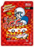 [予約]Johnny Lightning(ジョニーライトニング) 1/64 北米限定 スピードレーサー マッハ 5  ジャパニーズ レトロ パッケージ ※並行輸入品