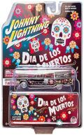 [予約]Johnny Lightning(ジョニーライトニング)  1/64 1966 キャデラック ハース  ディア・デ・ロス・ムエルトス ※並行輸入品