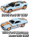 "JOHNNY LIGHTNING(ジョニーライトニング) 1/64 2-Pack Special ""Ford Gulf Set"""