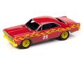 [予約]Johnny Lightning(ジョニーライトニング) 1/64 1967 フォード フェアレーン デモリション ダービー レッド