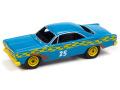 [予約]Johnny Lightning(ジョニーライトニング) 1/64 1967 フォード フェアレーン デモリション ダービー ブルー