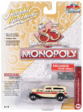 [予約]Johnny Lightning(ジョニーライトニング) 1/64 モノポリー 1933 フォード パネル トラック (クリーム/ブラック) Token(モノポリー用 駒)付