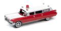 Johnny Lightning(ジョニーライトニング) 1/64 1959 キャディラック 救急車 レッド