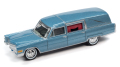 [予約]Johnny Lightning(ジョニーライトニング) 1/64 1959 キャディラック 霊柩車 ブルー