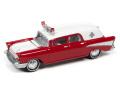 [予約]Johnny Lightning(ジョニーライトニング) 1/64 1957 シェビー 救急車 レッド