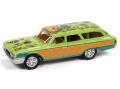[予約]Johnny Lightning(ジョニーライトニング) 1/64 1960 フォード カントリー スクワイア グリーン/オレンジ Rat Fink