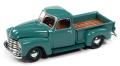 [予約]Johnny Lightning(ジョニーライトニング) 1/64 1950 シェビー ステップサイド トラック シークレストグリーン