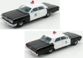 [予約]KESS (ケス) 1/43 シボレー ビスケーン サンカルロス警察 1963 ブラック/ホワイト