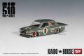 [予約]【お1人様5個まで】MINI GT 1/64 ダットサン 510 プロストリート OG グリーン KAIDO HOUSE (左ハンドル)