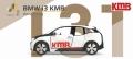 [予約]【お1人様5個まで】TINY(タイニー) Tiny City No.137 BMW i3 KMB(九龍モーターバス)車両