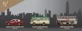 [予約]【お1人様5個まで】TINY(タイニー) Tiny City Bs6 香港タクシー、ミニバス、KMBバス 3台セット
