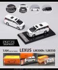 ゲインコーププロダクツ 1/64 LEXUS LM350 (RHD) ブラック