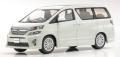 京商オリジナル 1/43 トヨタ ヴェルファイア 3.5Z G Edition (ホワイトパールクリスタルシャイン)