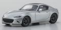 宮沢模型限定 京商 1/64 マツダ ロードスター RS 2015 シルバー