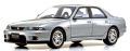 [予約]京商オリジナル samurai シリーズ 1/18 日産 スカイライン GT-R オーテック バージョン (BCNR33)  シルバー ※限定700台