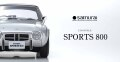 京商オリジナル samurai シリーズ 1/18 トヨタ スポーツ 800 (シルバー) 限定 700個