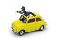 BRUMM(ブルム) 1/43 フィアット 500F Wanted ルパン3世 50周年記念エディション  ルパンと次元 2 フィギュア付
