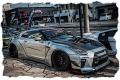 [予約]EIDOLON (アイドロン) 1/43  LBワークス GT-R タイプ1.5 スペシャルエディション 2017 シルバー(限定100台)