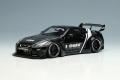 [予約]EIDOLON (アイドロン) 1/43 LB ワークス GT-R タイプ1.5 (シルエットワークスウィング) ブラック/ホワイトストライプ (限定100台、国内販売50台)
