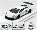 LB★PERFORMANCE 1/64 LIBERTY WALK LB Works Aventador LP700 White 世界限定999pcs