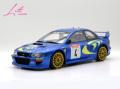 [予約]onemodel 1/18 Subaru Impreza WRC #4 WRC Racing