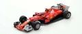 [予約]LOOKSMART(ルックスマート) 1/18 スクーデリア フェラーリ SF70H 2nd Place モナコ GP 2017 Kimi Raikkonen