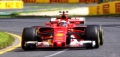 LOOKSMART(ルックスマート) 1/43 Scuderia Ferrari SF70H 4th Place Australian GP 2017  Kimi Raikkonen