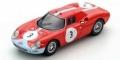 [予約]LOOKSMART(ルックスマート) 1/43 フェラーリ 250LM No.3 1000Km Paris 1964 L.Scarfiotti/J.Stewart