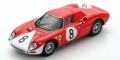[予約]LOOKSMART(ルックスマート) 1/43 フェラーリ 250LM No.8 2nd 12h Reims 1964 J.Surtees/L.Bandini
