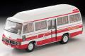 トミカリミテッドヴィンテージ 1/64 トヨタ コースター ハイルーフ デラックス車(白/赤)