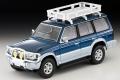 トミカリミテッドヴィンテージネオ 1/64 三菱パジェロ ミッドルーフワイドVR(オプションパーツ装着車)94年式(青/銀)