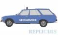[予約]モデルカーグループ 1/18 プジョー 504 ブレーク 1976 ブルー Gendamerie (フランス憲兵隊)