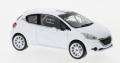 [予約]ixo (イクソ) 1/43 プジョー 208 R2 2013 ホワイト スペアホイール&タイヤセット付